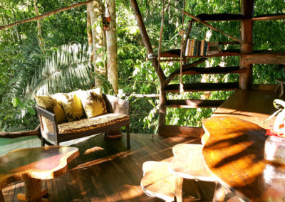 Studio Level of Tree House with Surf Room and Bathroom